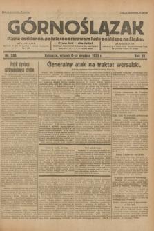 Górnoślązak : pismo codzienne, poświęcone sprawom ludu polskiego na Śląsku.R.31, nr 285 (6 grudnia 1932)