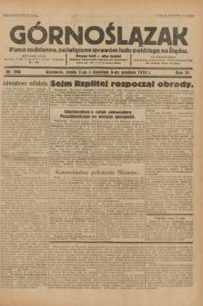 Górnoślązak : pismo codzienne, poświęcone sprawom ludu polskiego na Śląsku.R.31, nr 286 (7 i 8 grudnia 1932)
