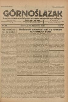 Górnoślązak : pismo codzienne, poświęcone sprawom ludu polskiego na Śląsku.R.31, nr 287 (9 grudnia 1932)