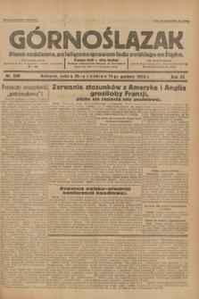 Górnoślązak : pismo codzienne, poświęcone sprawom ludu polskiego na Śląsku.R.31, nr 288 (10 i 11 grudnia 1932)