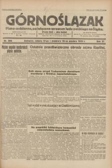 Górnoślązak : pismo codzienne, poświęcone sprawom ludu polskiego na Śląsku.R.31, nr 294 (17 i 18 grudnia 1932)