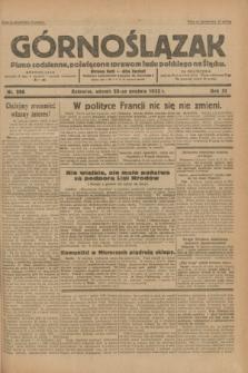 Górnoślązak : pismo codzienne, poświęcone sprawom ludu polskiego na Śląsku.R.31, nr 296 (20 grudnia 1932)
