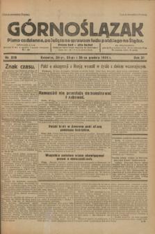 Górnoślązak : pismo codzienne, poświęcone sprawom ludu polskiego na Śląsku.R.31, nr 300 (24, 25 i 26 grudnia 1932)