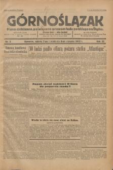 Górnoślązak : Pismo codzienne, poświęcone sprawom ludu polskiego na Śląsku.R.32, nr 5 (7 stycznia 1933)