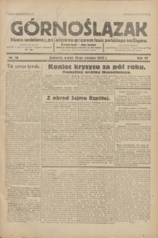 Górnoślązak : Pismo codzienne, poświęcone sprawom ludu polskiego na Śląsku.R.32, nr 10 (13 stycznia 1933)