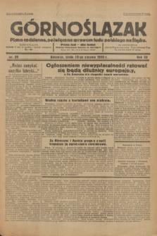 Górnoślązak : Pismo codzienne, poświęcone sprawom ludu polskiego na Śląsku.R.32, nr 20 (25 stycznia 1933)