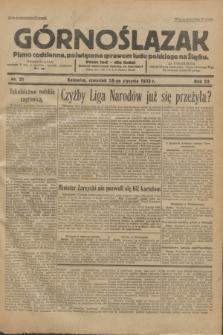 Górnoślązak : Pismo codzienne, poświęcone sprawom ludu polskiego na Śląsku.R.32, nr 21 (16 stycznia 1933)