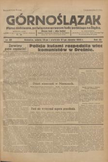 Górnoślązak : Pismo codzienne, poświęcone sprawom ludu polskiego na Śląsku.R.32, nr 23 (28 stycznia 1933)