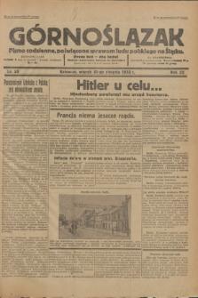 Górnoślązak : Pismo codzienne, poświęcone sprawom ludu polskiego na Śląsku.R.32, nr 25 (31 stycznia 1933)