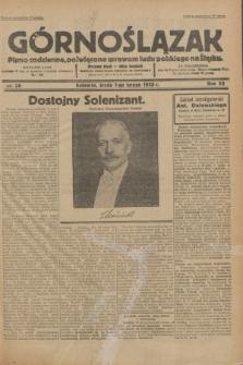 Górnoślązak : Pismo codzienne, poświęcone sprawom ludu polskiego na Śląsku.R.32, nr 26 (1 lutego 1933)