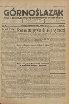 Górnoślązak : Pismo codzienne, poświęcone sprawom ludu polskiego na Śląsku.R.32, nr 29 (6 lutego 1933)