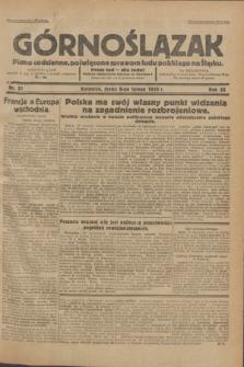 Górnoślązak : Pismo codzienne, poświęcone sprawom ludu polskiego na Śląsku.R.32, nr 31 (9 lutego 1933)