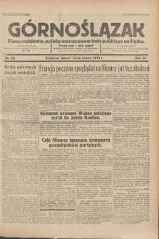 Górnoślązak : Pismo codzienne, poświęcone sprawom ludu polskiego na Śląsku.R.32, nr 36 (14 lutego 1933)