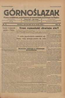 Górnoślązak : pismo codzienne, poświęcone sprawom ludu polskiego na Śląsku.R.32, nr 41 (20 lutego 1933)