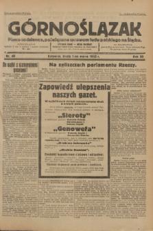 Górnoślązak : Pismo codzienne, poświęcone sprawom ludu polskiego na Śląsku.R.32, nr 49 (1 marca 1933)