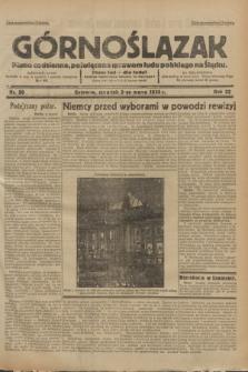 Górnoślązak : pismo codzienne, poświęcone sprawom ludu polskiego na Śląsku.R.32, nr 50 (2 marca 1933)
