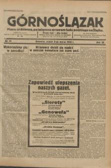 Górnoślązak : pismo codzienne, poświęcone sprawom ludu polskiego na Śląsku.R.32, nr 51 (3 marca 1933)
