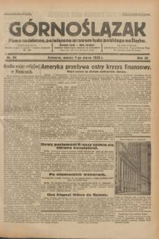 Górnoślązak : pismo codzienne, poświęcone sprawom ludu polskiego na Śląsku.R.32, nr 54 (7 marca 1933)