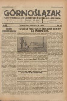Górnoślązak : pismo codzienne, poświęcone sprawom ludu polskiego na Śląsku.R.32, nr 56 (9 marca 1933)