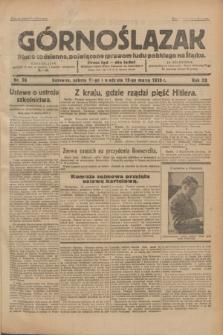 Górnoślązak : pismo codzienne, poświęcone sprawom ludu polskiego na Śląsku.R.32, nr 58 (11/12 marca 1933)