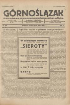Górnoślązak : pismo codzienne, poświęcone sprawom ludu polskiego na Śląsku.R.32, nr 69 (24 marca 1933)