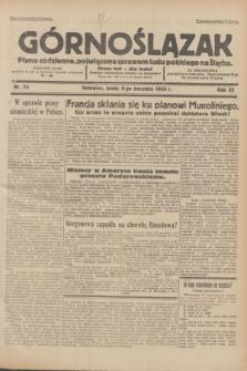 Górnoślązak : pismo codzienne, poświęcone sprawom ludu polskiego na Śląsku.R.32, nr 79 (5 kwietnia 1933)