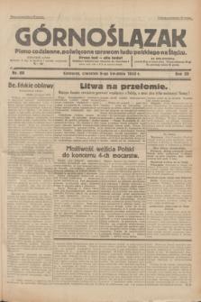 Górnoślązak : pismo codzienne, poświęcone sprawom ludu polskiego na Śląsku.R.32, nr 80 (6 kwietnia 1933)