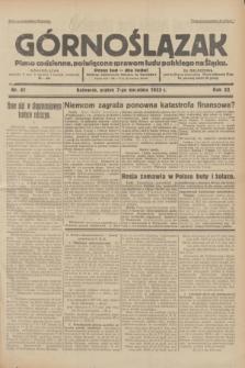 Górnoślązak : pismo codzienne, poświęcone sprawom ludu polskiego na Śląsku.R.32, nr 81 (7 kwietnia 1933)