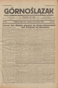 Górnoślązak : pismo codzienne, poświęcone sprawom ludu polskiego na Śląsku.R.32, nr 82 (8/9 kwietnia 1933)