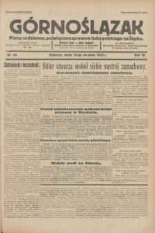 Górnoślązak : pismo codzienne, poświęcone sprawom ludu polskiego na Śląsku.R.32, nr 90 (19 kwietnia 1933)