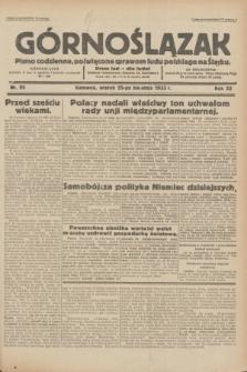 Górnoślązak : pismo codzienne, poświęcone sprawom ludu polskiego na Śląsku.R.32, nr 95 (25 kwietnia 1933)