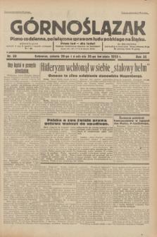 Górnoślązak : pismo codzienne, poświęcone sprawom ludu polskiego na Śląsku.R.32, nr 99 (29/30 kwietnia 1933)