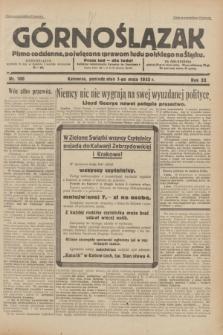 Górnoślązak : pismo codzienne, poświęcone sprawom ludu polskiego na Śląsku.R.32, nr 100 (1 maja 1933)