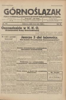 Górnoślązak : pismo codzienne, poświęcone sprawom ludu polskiego na Śląsku.R.32, nr 103 (5 maja 1933)