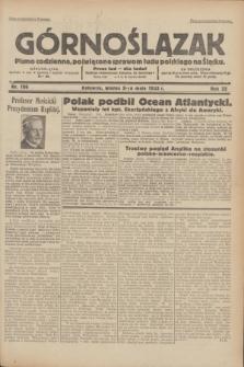 Górnoślązak : pismo codzienne, poświęcone sprawom ludu polskiego na Śląsku.R.32, nr 106 (9 maja 1933)