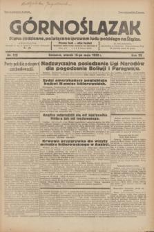 Górnoślązak : pismo codzienne, poświęcone sprawom ludu polskiego na Śląsku.R.32, nr 112 (16 maja 1933)