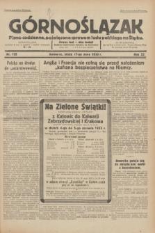 Górnoślązak : pismo codzienne, poświęcone sprawom ludu polskiego na Śląsku.R.32, nr 113 (17 maja 1933)