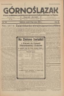 Górnoślązak : pismo codzienne, poświęcone sprawom ludu polskiego na Śląsku.R.32, nr 115 (19 maja 1933)