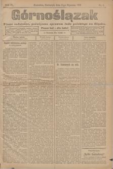 Górnoślązak : pismo codzienne, poświęcone sprawom ludu polskiego na Sląsku.R.4, nr 4 (5 stycznia 1905)