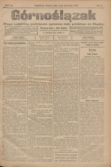 Górnoślązak : pismo codzienne, poświęcone sprawom ludu polskiego na Śląsku.R.4, nr 5 (6 stycznia 1905)