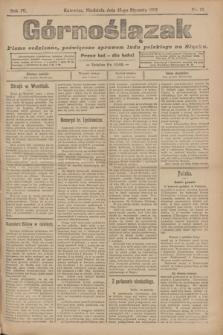 Górnoślązak : pismo codzienne, poświęcone sprawom ludu polskiego na Sląsku.R.4, nr 12 (15 stycznia 1905) + dod.