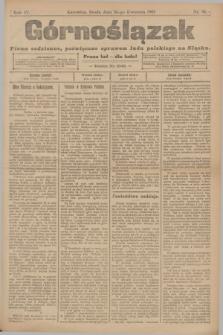 Górnoślązak : pismo codzienne, poświęcone sprawom ludu polskiego na Sląsku.R.4, nr 94 (26 kwietnia 1905)