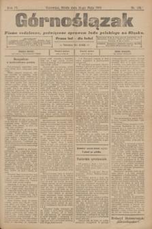 Górnoślązak : pismo codzienne, poświęcone sprawom ludu polskiego na Sląsku.R.4, nr 124 (31 maja 1905)