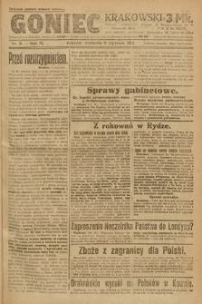 Goniec Krakowski. 1921, nr8