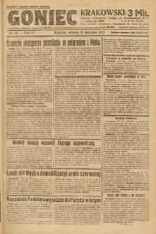 Goniec Krakowski. 1921, nr10