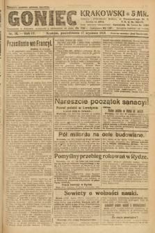 Goniec Krakowski. 1921, nr16