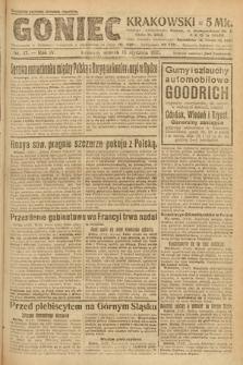 Goniec Krakowski. 1921, nr17