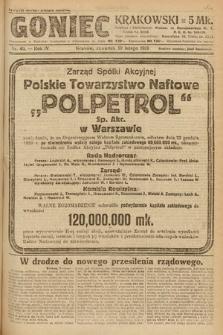 Goniec Krakowski. 1921, nr40