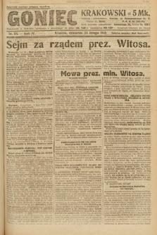 Goniec Krakowski. 1921, nr54