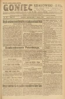 Goniec Krakowski. 1921, nr63